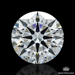 1.421 ct D SI1 A CUT ABOVE® Hearts and Arrows Super Ideal Round Cut Loose Diamond
