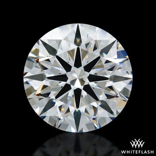 1.422 ct E VS2 A CUT ABOVE® Hearts and Arrows Super Ideal Round Cut Loose Diamond