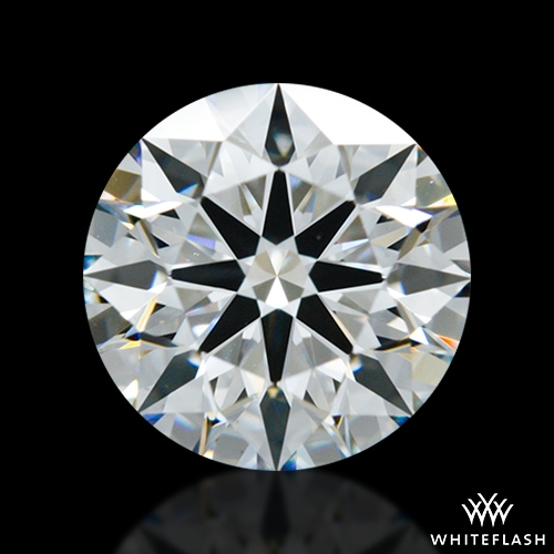 1.285 ct F VS1 A CUT ABOVE® Hearts and Arrows Super Ideal Round Cut Loose Diamond