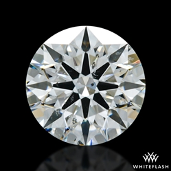 1.322 ct G SI2 A CUT ABOVE® Hearts and Arrows Super Ideal Round Cut Loose Diamond