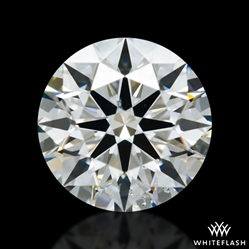 0.648 ct H SI1 A CUT ABOVE® Hearts and Arrows Super Ideal Round Cut Loose Diamond