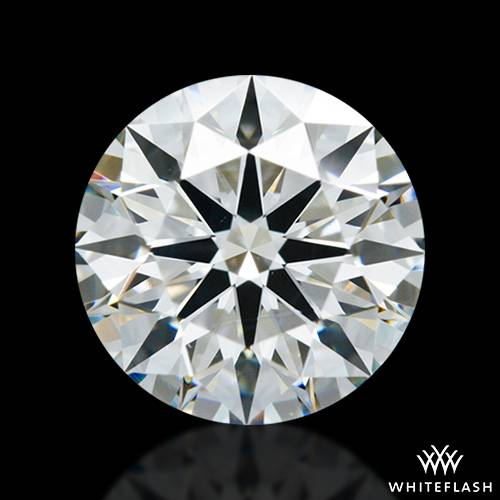 1.536 ct H VS2 A CUT ABOVE® Hearts and Arrows Super Ideal Round Cut Loose Diamond