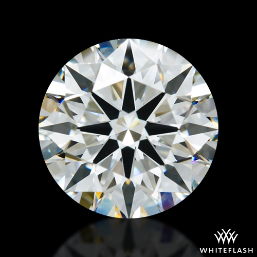 1.286 ct G VS1 A CUT ABOVE® Hearts and Arrows Super Ideal Round Cut Loose Diamond
