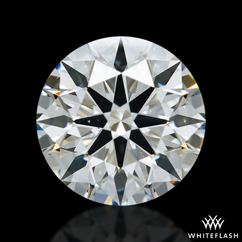 1.258 ct H VS2 A CUT ABOVE® Hearts and Arrows Super Ideal Round Cut Loose Diamond