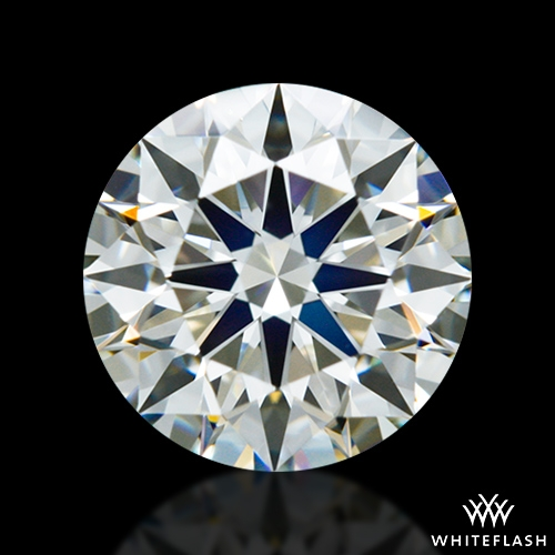 0.935 ct J VS2 A CUT ABOVE® Hearts and Arrows Super Ideal Round Cut Loose Diamond