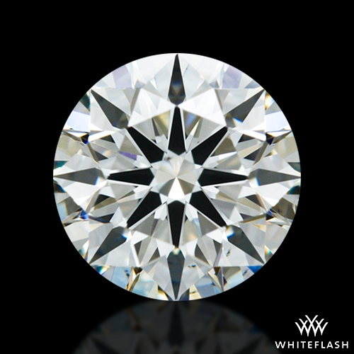 0.978 ct I VS2 A CUT ABOVE® Hearts and Arrows Super Ideal Round Cut Loose Diamond