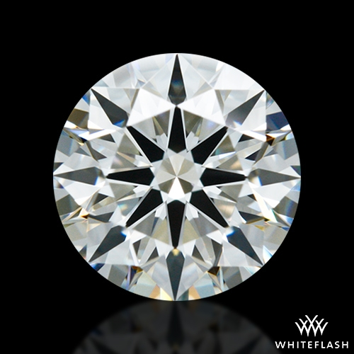 0.978 ct I VS1 A CUT ABOVE® Hearts and Arrows Super Ideal Round Cut Loose Diamond