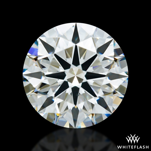 0.974 ct J VS2 A CUT ABOVE® Hearts and Arrows Super Ideal Round Cut Loose Diamond