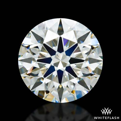 0.951 ct J VS2 A CUT ABOVE® Hearts and Arrows Super Ideal Round Cut Loose Diamond