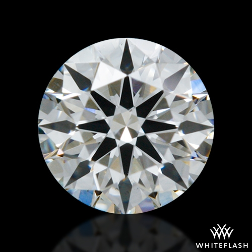 0.314 ct G VS2 A CUT ABOVE® Hearts and Arrows Super Ideal Round Cut Loose Diamond