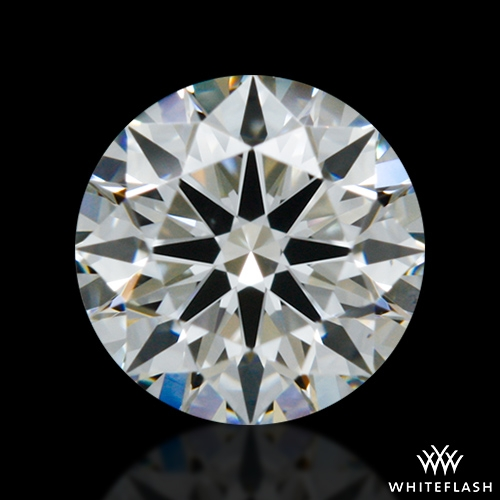 0.364 ct I VS1 A CUT ABOVE® Hearts and Arrows Super Ideal Round Cut Loose Diamond