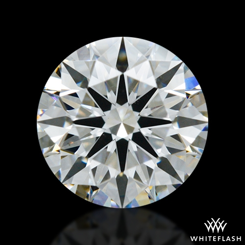 0.80 ct H VS2 A CUT ABOVE® Hearts and Arrows Super Ideal Round Cut Loose Diamond