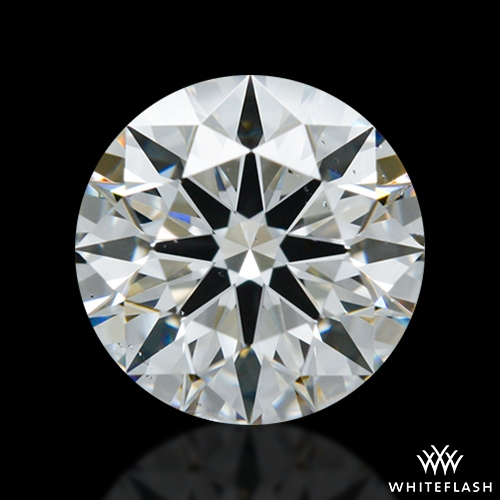 0.826 ct G SI1 A CUT ABOVE® Hearts and Arrows Super Ideal Round Cut Loose Diamond