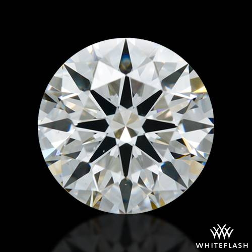 0.873 ct H VS2 A CUT ABOVE® Hearts and Arrows Super Ideal Round Cut Loose Diamond