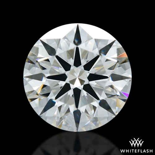 0.952 ct F VVS2 A CUT ABOVE® Hearts and Arrows Super Ideal Round Cut Loose Diamond