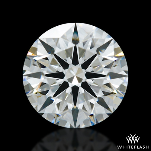 0.978 ct H VS2 A CUT ABOVE® Hearts and Arrows Super Ideal Round Cut Loose Diamond