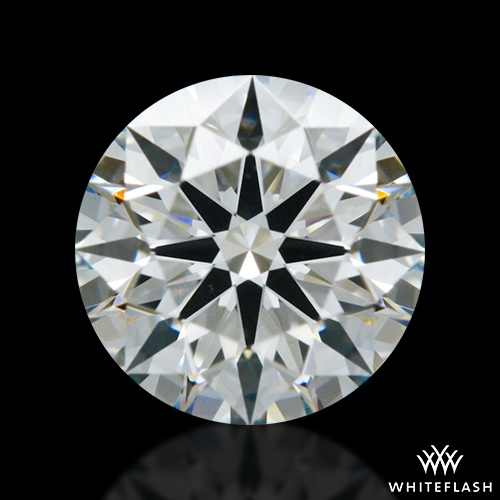 0.733 ct H VS2 A CUT ABOVE® Hearts and Arrows Super Ideal Round Cut Loose Diamond