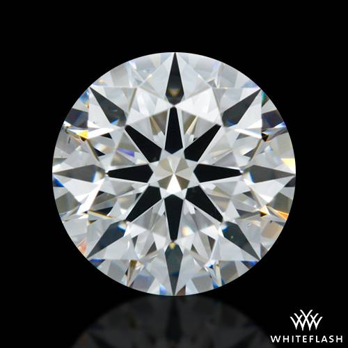 0.734 ct E VS2 A CUT ABOVE® Hearts and Arrows Super Ideal Round Cut Loose Diamond