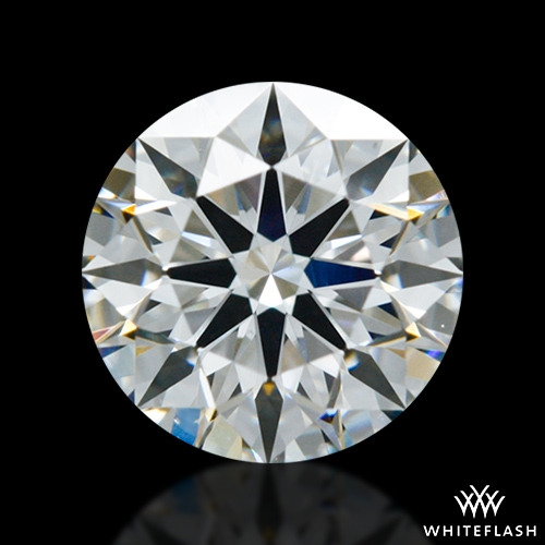 0.702 ct F VS2 A CUT ABOVE® Hearts and Arrows Super Ideal Round Cut Loose Diamond