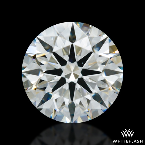 0.755 ct H VS2 A CUT ABOVE® Hearts and Arrows Super Ideal Round Cut Loose Diamond