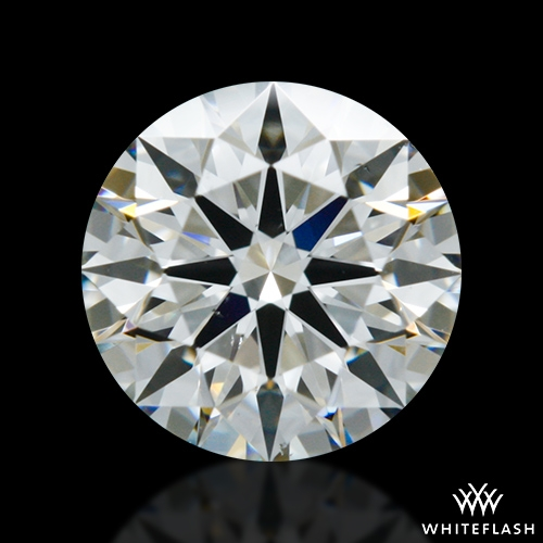 0.711 ct H VS2 A CUT ABOVE® Hearts and Arrows Super Ideal Round Cut Loose Diamond
