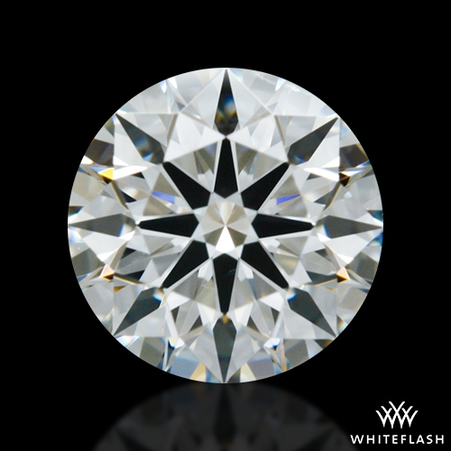 0.713 ct H SI1 A CUT ABOVE® Hearts and Arrows Super Ideal Round Cut Loose Diamond