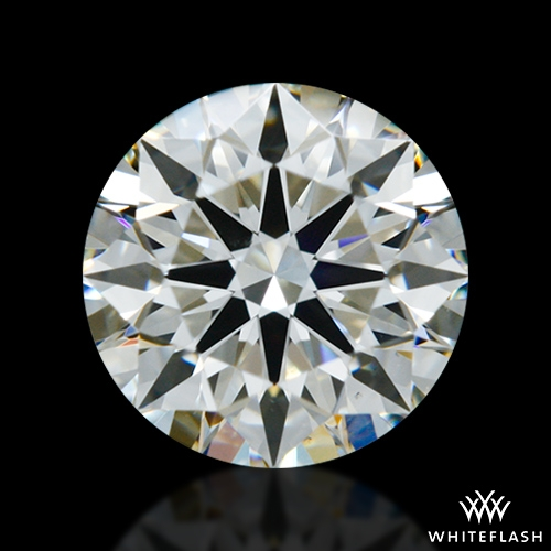 0.755 ct I VS2 A CUT ABOVE® Hearts and Arrows Super Ideal Round Cut Loose Diamond