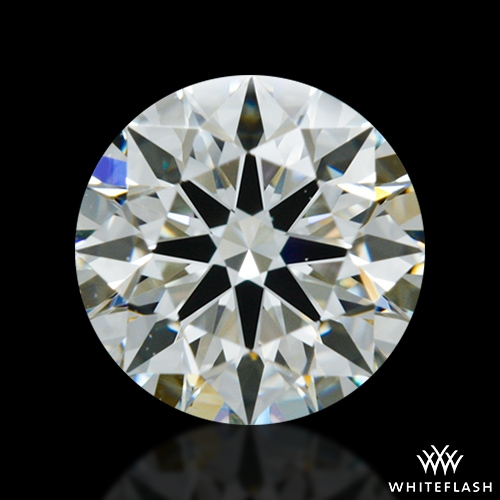 0.83 ct J VS2 A CUT ABOVE® Hearts and Arrows Super Ideal Round Cut Loose Diamond