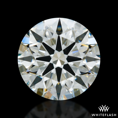 0.756 ct J VS2 A CUT ABOVE® Hearts and Arrows Super Ideal Round Cut Loose Diamond