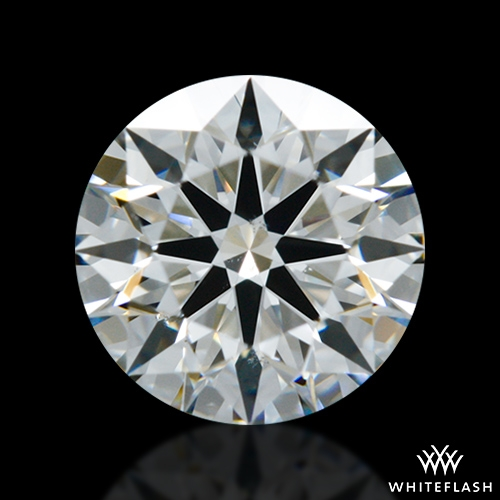 0.604 ct G SI1 A CUT ABOVE® Hearts and Arrows Super Ideal Round Cut Loose Diamond