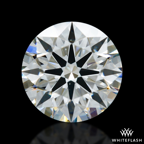 0.612 ct F VS2 A CUT ABOVE® Hearts and Arrows Super Ideal Round Cut Loose Diamond
