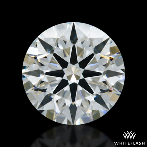 0.622 ct F VS1 A CUT ABOVE® Hearts and Arrows Super Ideal Round Cut Loose Diamond