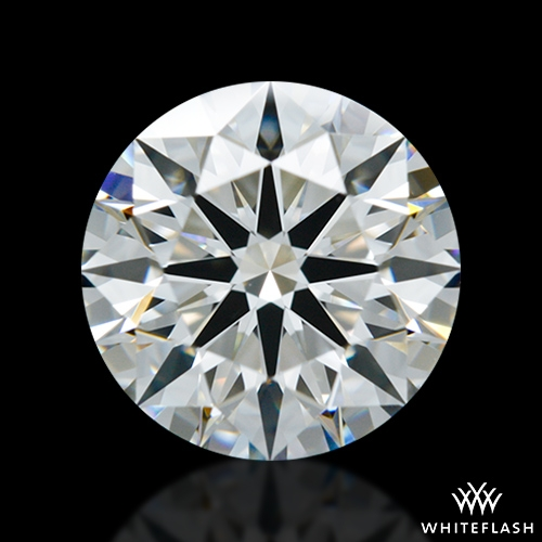 1.422 ct H VS1 A CUT ABOVE® Hearts and Arrows Super Ideal Round Cut Loose Diamond