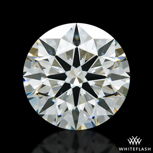1.838 ct H VS2 A CUT ABOVE® Hearts and Arrows Super Ideal Round Cut Loose Diamond