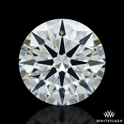 1.303 ct D SI1 A CUT ABOVE® Hearts and Arrows Super Ideal Round Cut Loose Diamond