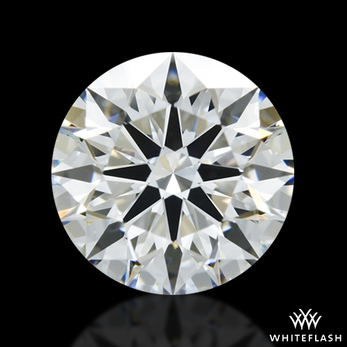 1.247 ct F VS2 A CUT ABOVE® Hearts and Arrows Super Ideal Round Cut Loose Diamond