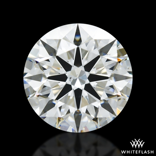 1.118 ct H VS2 A CUT ABOVE® Hearts and Arrows Super Ideal Round Cut Loose Diamond