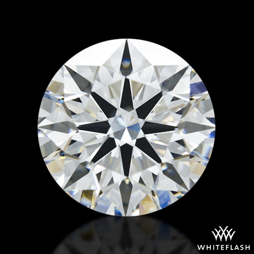 2.515 ct G VS2 A CUT ABOVE® Hearts and Arrows Super Ideal Round Cut Loose Diamond