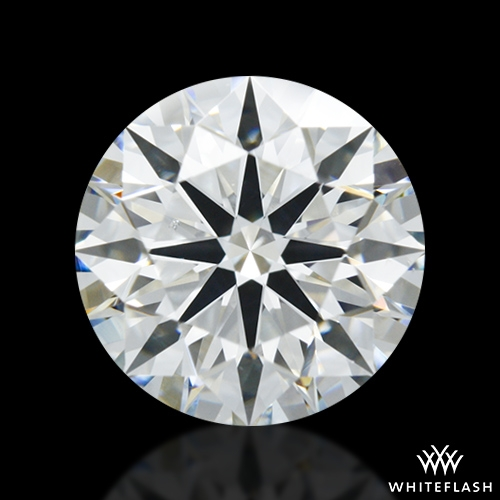 1.327 ct H VS2 A CUT ABOVE® Hearts and Arrows Super Ideal Round Cut Loose Diamond