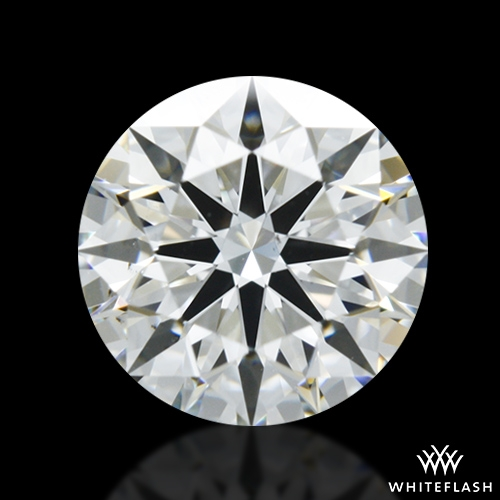 0.908 ct G VS2 A CUT ABOVE® Hearts and Arrows Super Ideal Round Cut Loose Diamond