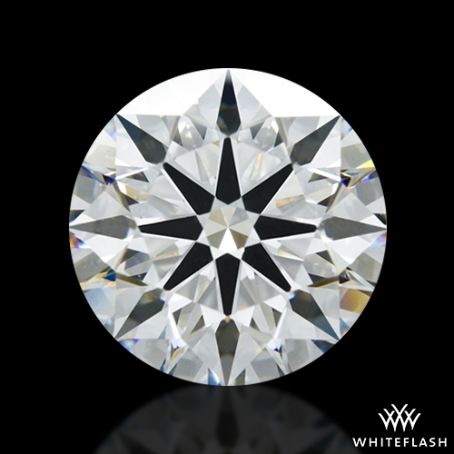 4.156 ct H VS2 A CUT ABOVE® Hearts and Arrows Super Ideal Round Cut Loose Diamond