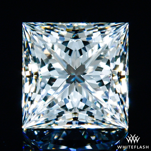 1.004 ct H VVS2 A CUT ABOVE® Princess Super Ideal Cut Diamond