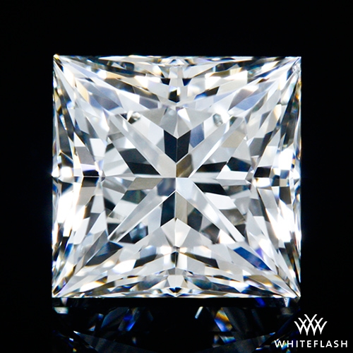 1.34 ct G VS1 A CUT ABOVE® Princess Super Ideal Cut Diamond