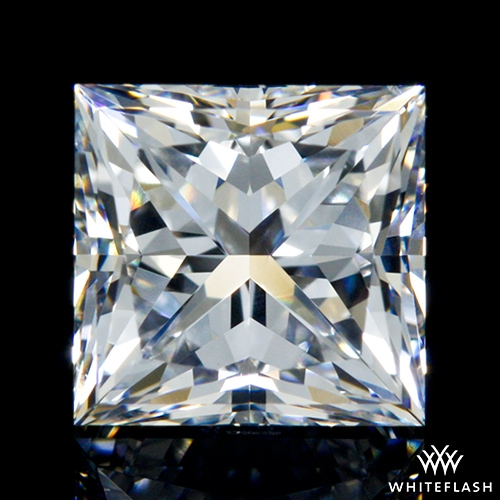 0.91 ct E VS2 A CUT ABOVE® Princess Super Ideal Cut Diamond