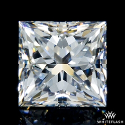 0.91 ct E VS2 A CUT ABOVE® Princess Super Ideal Cut Diamond