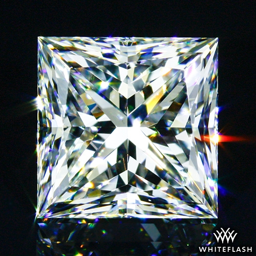 1.543 ct G VS1 A CUT ABOVE® Princess Super Ideal Cut Diamond