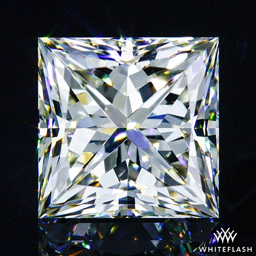 0.536 ct J VS1 A CUT ABOVE® Princess Super Ideal Cut Diamond