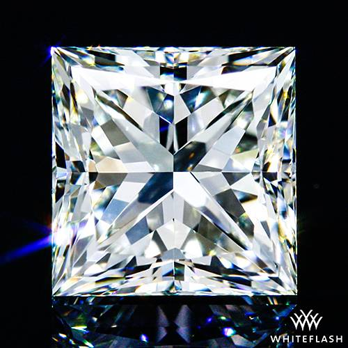 0.517 ct I VS1 A CUT ABOVE® Princess Super Ideal Cut Diamond
