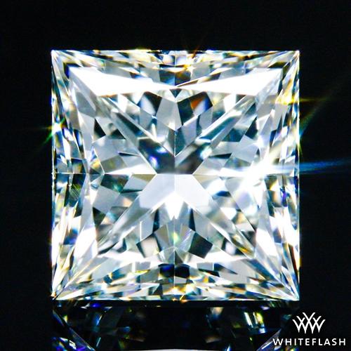 0.512 ct I VS1 A CUT ABOVE® Princess Super Ideal Cut Diamond