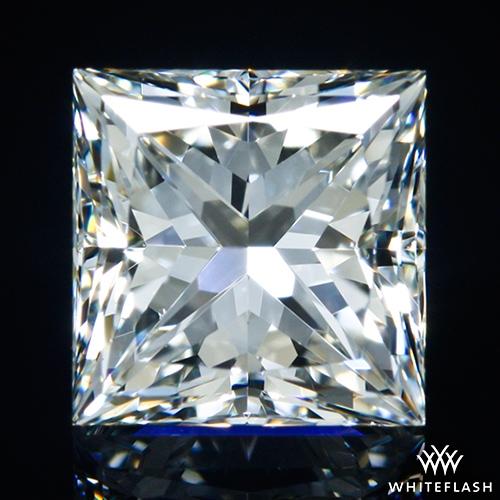 1.037 ct H VS2 A CUT ABOVE® Princess Super Ideal Cut Diamond